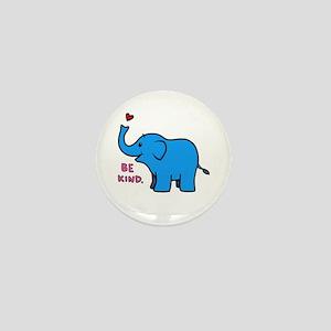 be kind elephant Mini Button