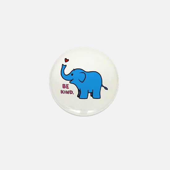 be kind elephant Mini Button