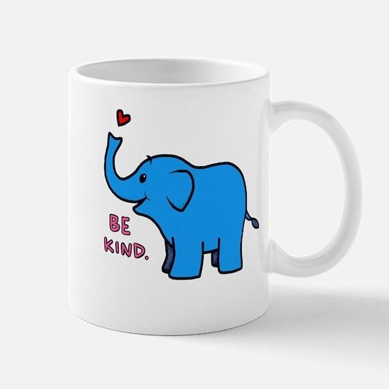 be kind elephant Mugs