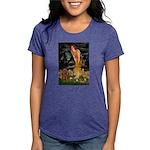 MIDEVE-Cav-Ruby7 Womens Tri-blend T-Shirt