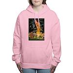 MIDEVE-Cav-Ruby7 Women's Hooded Sweatshirt