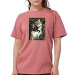 TILE-Oph2-Cav-Blk-Tan Womens Comfort Colors Sh