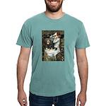 TILE-Oph2-Cav-Blk-Tan Mens Comfort Colors Shir