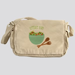 Lettuce Eat Messenger Bag