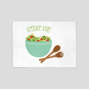 Lettuce Eat 5'x7'Area Rug