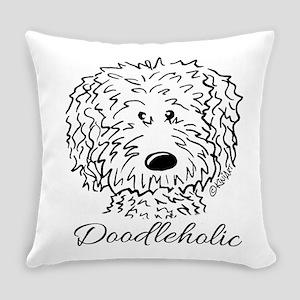 KiniArt Doodleholic Everyday Pillow