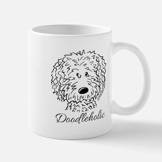KiniArt Doodleholic Mug
