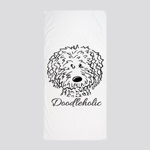 KiniArt Doodleholic Beach Towel