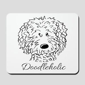 KiniArt Doodleholic Mousepad
