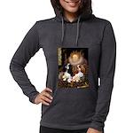 5.5x7.5-Queen-CavPAIR Womens Hooded Shirt