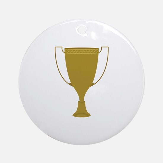 1st Place Trophy Round Ornament