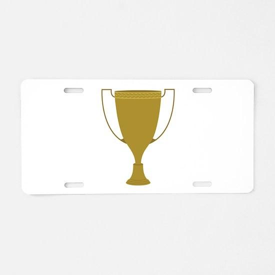 1st Place Trophy Aluminum License Plate