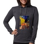MP-CAFE-Cav-Ruby7 Womens Hooded Shirt