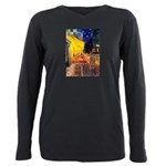 MP-CAFE-Cav-Ruby7 Plus Size Long Sleeve Tee