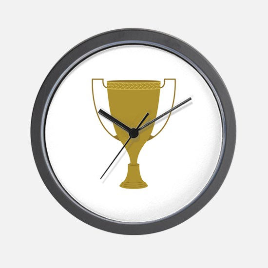 1st Place Trophy Wall Clock