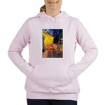 MP-CAFE-Cav-Ruby7 Women's Hooded Sweatshirt