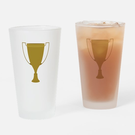 1st Place Trophy Drinking Glass