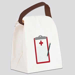 Medical Notes Canvas Lunch Bag