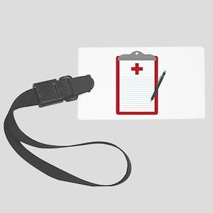 Medical Notes Luggage Tag