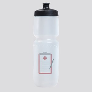 Medical Notes Sports Bottle