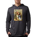 ORN-Oval-VASE-Renoir-Cavalier-TRI6 Mens Hooded