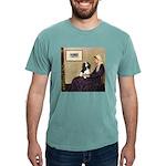 ORN-Oval-WMom-Cav-Tri Mens Comfort Colors Shir