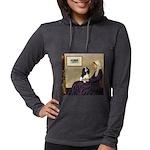 ORN-Oval-WMom-Cav-Tri Womens Hooded Shirt