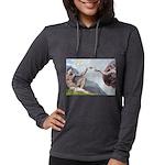 5x7-Creation-ChIH2 Womens Hooded Shirt