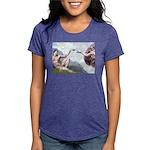 5x7-Creation-ChIH2 Womens Tri-blend T-Shirt