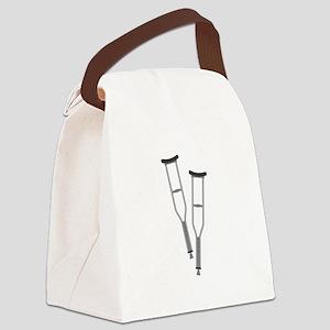 Crutches Canvas Lunch Bag