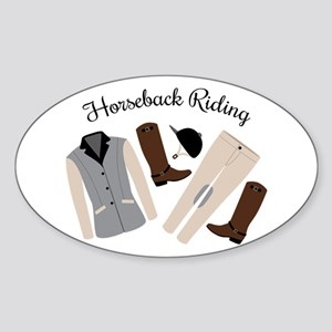 Horseback Riding Sticker