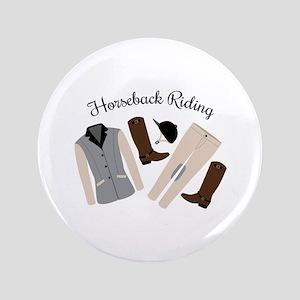 Horseback Riding Button