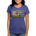 5x7-Lilies2-CHIH2 Womens Tri-blend T-Shirt