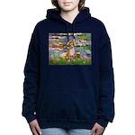 5x7-Lilies2-CHIH2 Women's Hooded Sweatshirt