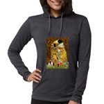 5.5x7.5-Kiss-Chih4 Womens Hooded Shirt