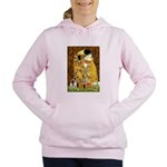 5.5x7.5-Kiss-Chih4 Women's Hooded Sweatshirt