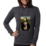 CARD-Mona-Crested1 Womens Hooded Shirt