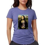 CARD-Mona-Crested1 Womens Tri-blend T-Shirt