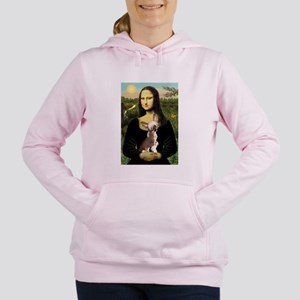 CARD-Mona-Crested1 Women's Hooded Sweatshirt