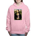 CARD-Mona-Crested1 Women's Hooded Sweatshirt
