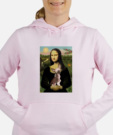 CARD-Mona-Crested1.png Women's Hooded Sweatshirt