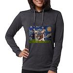5.5x7.5-Starry-CrestedPR Womens Hooded Shirt