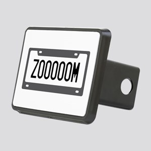 Zoom License Plate Hitch Cover