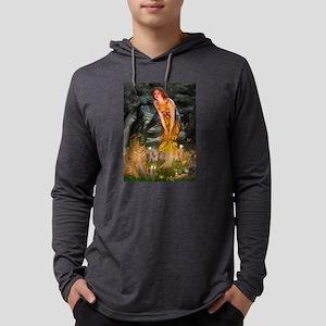 card-MidEve-Sharpei1-nc Mens Hooded Shirt