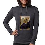 5.5x7.5-WMom-Chow1 Womens Hooded Shirt