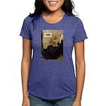 5.5x7.5-WMom-Chow1 Womens Tri-blend T-Shirt