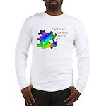 Autism pieces Long Sleeve T-Shirt
