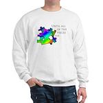 Autism pieces Sweatshirt
