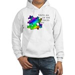 Autism pieces Hooded Sweatshirt