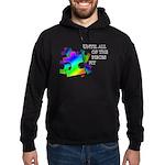 Autism pieces Hoodie (dark)
